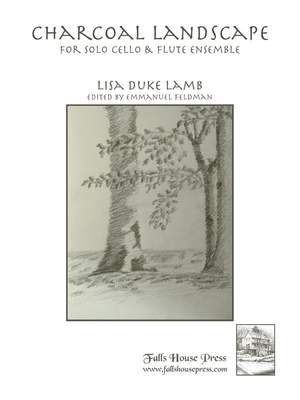 Duke Lamb, L: Charcoal Landscape