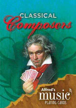 Alfred's Music Playing Cards: Classical Composers (1 Pack) Product Image