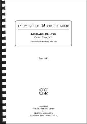 Dering, Richard: Cantica Sacra (1618)