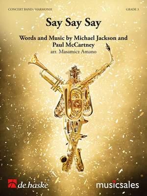 Jackson, Michael: Say, Say, Say