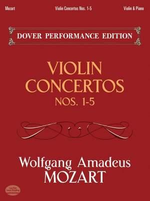 Wolfgang Amadeus Mozart: Violin Concertos Nos.1-5