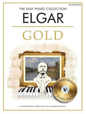 Edward Elgar: The Easy Piano Collection: Elgar - Gold Book/CD Ed