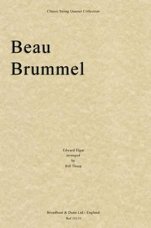 Elgar, Edward: Beau Brummel
