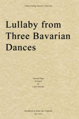 Elgar, Edward: Lullaby from Three Bavarian Dances