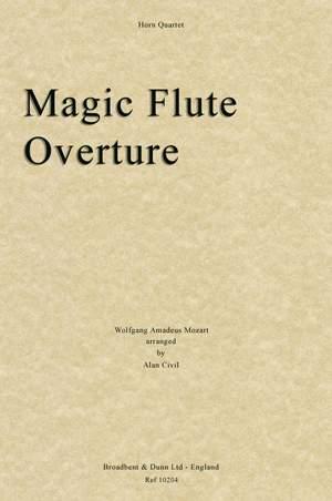 Mozart, Wolfgang Amadeus: The Magic Flute Overture
