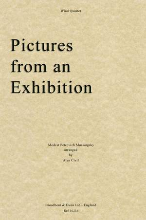 Mussorgsky, Modest Petrovich: Pictures from an Exhibition