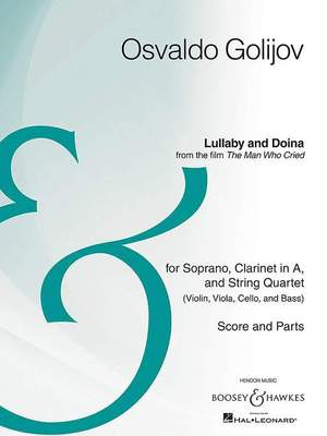 Golijov, O: Lullaby and Doina Product Image