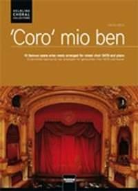 Coro mio ben - 10 famous arias newly arranged for mixed choir