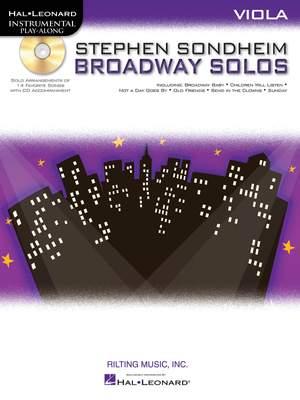 Stephen Sondheim: Stephen Sondheim - Broadway Solos