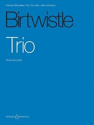 Birtwistle: Trio