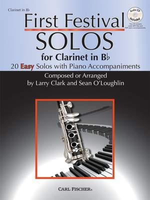Robert Schumann_Sean O'Loughlin: First Festival Solos for Clarinet