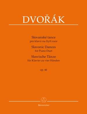 Dvorák, A: Slavonic Dances for Piano Duet op. 46