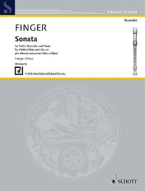 Finger, G: Sonata F major