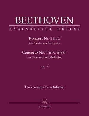 Beethoven, Ludwig van: Concerto for Pianoforte and Orchestra no. 1 C major op. 15