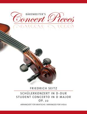 Seitz, Friedrich: Student Concerto in D major op. 22