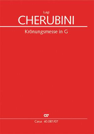 Cherubini: Krönungsmesse in G