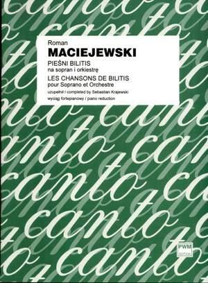 Maciejewski, R: Les Chansons de Bilitis