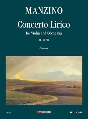 Manzino, G: Concerto Lirico