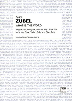 Zubel, A: What is the Word