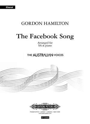 The Facebook Song - SA and piano