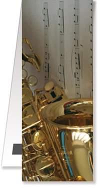 Bookmark Saxophone/Sheet music magnetic