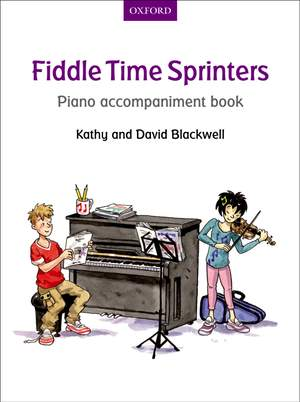 Blackwell, Kathy: Fiddle Time Sprinters Piano Accompaniment Book