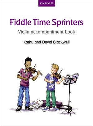 Blackwell, Kathy: Fiddle Time Sprinters Violin Accompaniment Book