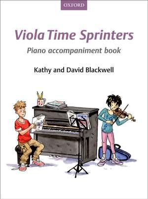 Blackwell, Kathy: Viola Time Sprinters Piano Accompaniment Book