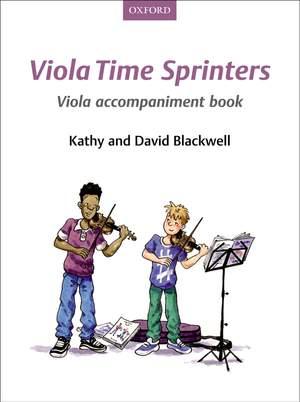 Blackwell, Kathy: Viola Time Sprinters Viola Accompaniment Book