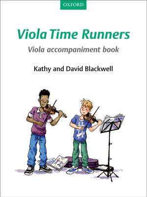 Blackwell, Kathy: Viola Time Runners Viola Accompaniment Book