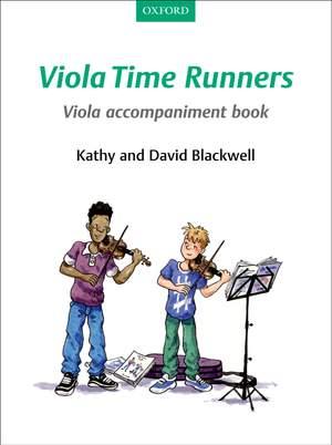 Blackwell, Kathy: Viola Time Runners Viola Accompaniment Book