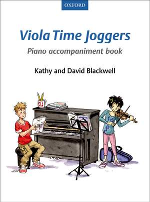 Blackwell, Kathy: Viola Time Joggers Piano Accompaniment Book