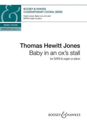 Hewitt Jones, T: Baby in an ox's stall