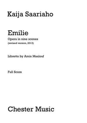 Kaija Saariaho: Emilie Opera In Nine Scenes