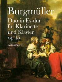 Burgmueller, N: Duo op. 15