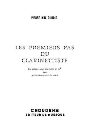 Pierre-Max Dubois: Premiers Pas Du Clarinettiste Product Image