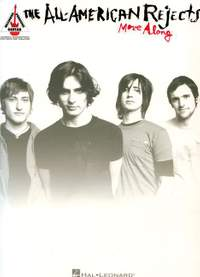 All-American Rejects Move Along Guitar Recorded Versions Gtr Tab Book