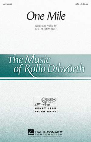Rollo Dilworth: One Mile