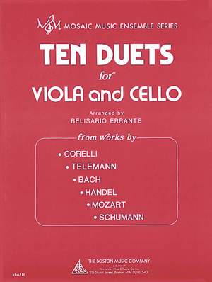 Ten Duets for Viola and Cello
