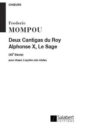 Mompou: 2 Cantigas de Alfonso X el Sabio