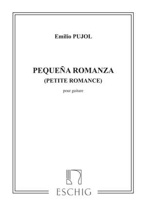 Pujol: Pequena Romanza (Pujol No.1222)