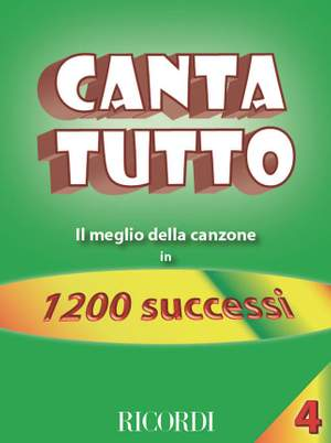 Various: Canta Tutto Vol.4