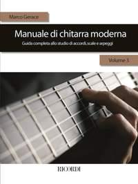 Gerace: Manuale di Chitarra moderna Vol.3