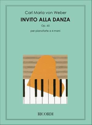 Weber: L'Invitation à la Valse Op.65 (Ricordi)