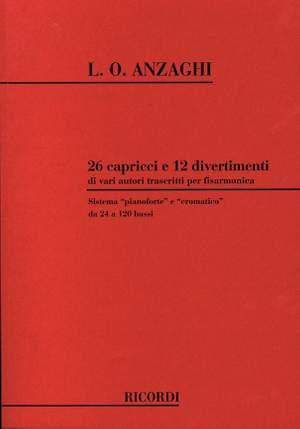 Anzaghi: 26 Capricci e 12 Divertimenti di vari Autori