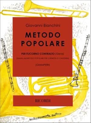 Bianchini: Metodo popolare per Flicorno contralto (Genis)