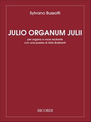 Bussotti: Julio organum Julii