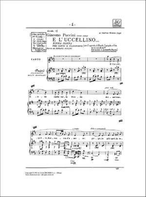 Puccini: E l'Uccelino...