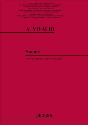 Vivaldi: 9 Sonatas for Cello and Bass Continuo