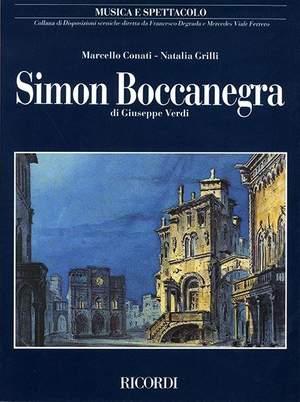 Conati: Simon Boccanegra di Giuseppe Verdi (Crit.Ed.Paperback)